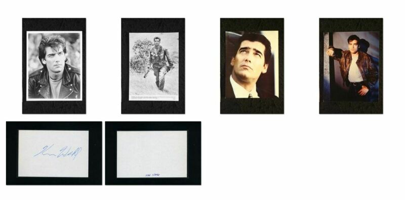 Ken Wahl - Signed Autograph and Headshot Photo set - WISEGUY