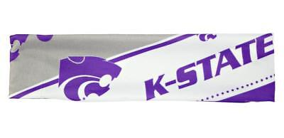 Kansas State Wildcats Stretch Patterned Headband (NEW) NCAA Head Band Hair Pony Ncaa Kansas State Wildcats Pattern
