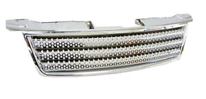 Holden Rodeo (06-08) Full Chrome De-Badge Grille