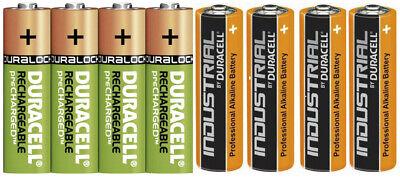 Duracell Power Akkus Accus Batterien AAA Micro AA Mignon  * Neuware aus 2019 *