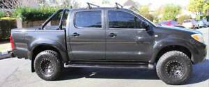 "2008 Toyota Hilux  ""4X4"" Ute TURBO DIESEL REGO AND RWC"