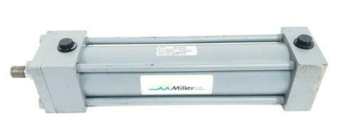 MILLER HV SERIES 50R2N-00250-01000-0100 HYDRAULIC CYLINDER 2500PSI
