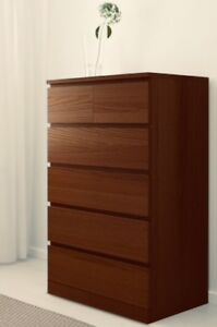 MOVING SALE LK NEW IKEA MALM DRAWER DRESSER