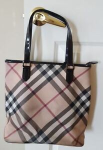 Burberry Classic Pattern handbag