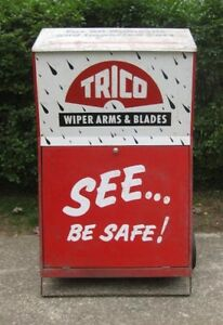"""1960's """"Trico"""" Windshield Wipers Cabinet"""