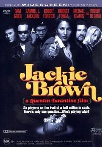 JACKIE BROWN DVD=PAM GRIER=REGION 4 AUSTRALIAN RELEASE=NEW AND SEALED