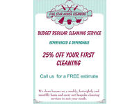 Regular Cleaning & One-Off Cleaning in Edinburgh Area - Five Star House Ceaning - Cleaning Service.