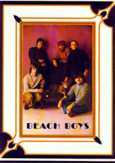 Beach Boys The 1968 Concert Tour Program Book 24 Pages w/ Bonus Poster Attached!