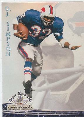 Oj Simpson 1994 Ted Williams Football Card  8 Buffalo Bills Nr Mt