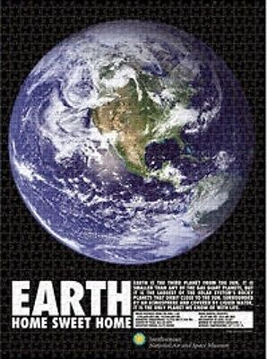 Jigsaw Puzzle Space Astrology Planets Earth The Big Blue Marble 1000 Piece New