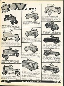 Wanted: pedal car, tractor, wagon, tricycle, tin toy etc