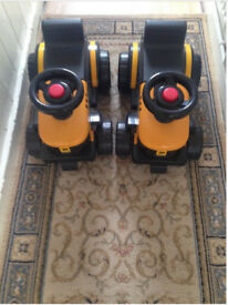 Kids JCB sit on truck ridealong. Strong Sturdy Great Brand Bargain only £7.
