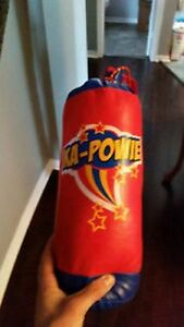 Toy punching bag