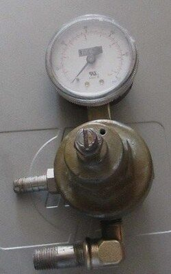 Perlick Single Gauge Co2 Regulator For Beer Tap Keg Kegerator