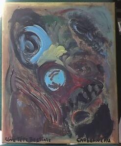 Acrylique sur toiles 16X20