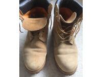 Timberland Men's Premium Waterproof Classic Boots SIZE 10- VGC