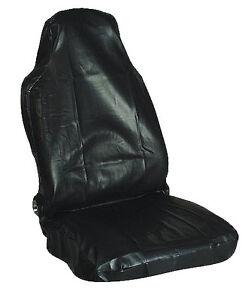 Röku  Kunstleder - Werkstattschoner - Sitzschoner - Sitzbezug - schwarz