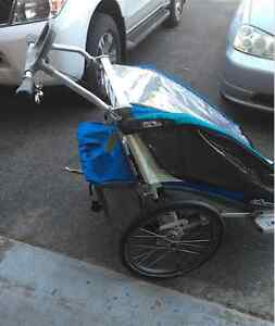 Thule Chariot CX 2 Stroller-Run/Walk Bike (Barely used) London Ontario image 2