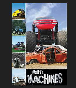 NEW BOOK: 3D COVER Mighty Machines (Level 1) + Toys