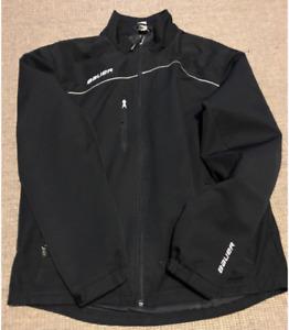Men's Bauer Hockey Team Windbreaker/Tracksuit Jacket - Size S
