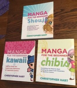 Manga Drawing books by Christopher Hart