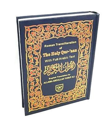 The Holy Quran Arabic Text English Trans. & Transliteration by Yusuf Ali (QT-14)