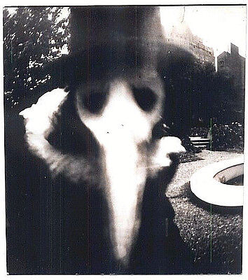 Plague Doctor Ghost Old Photo Creepy for Halloween Mask -17