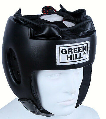 Greenhill Boxing Head guard Alfa Training Sparring head gear Best Fitting