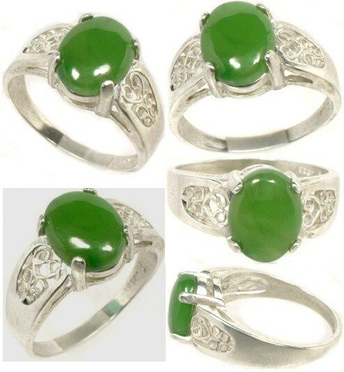 19thC Antique 2 1/3ct Jade Sacred Gem of Ancient China Emperors Immortality Luck