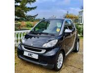 2009 SMART FOR TWO 1.0 PETROL PASSION CVT AUTOMATIC IN BLACK ONLY 59000 MILES