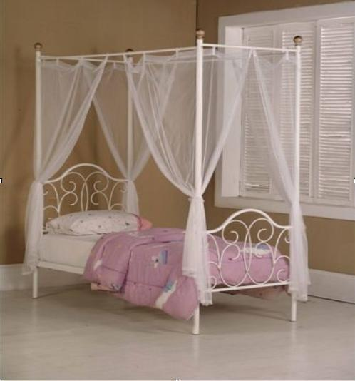 Girls four poster bed for sale buy sale and trade ads for Four poster dog bed for sale