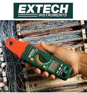 NEW EXTECH MINI AC/DC CLAMP METER 8AMP - 4000 COUNT LCD DISPLAY - 1mA RESOLUTION 104572003