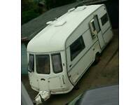 2 Berth caravan with motor mover and full awning
