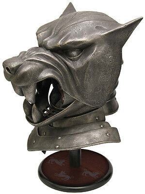 VALYRIAN STEEL Game of Thrones The Hound's Helm Helmet New & - Hound Helmet