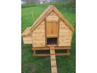 Staffordshire holly cottage chicken coop
