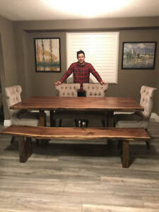 Custom Woodworking / Tables, Credenzas, Cabinetry