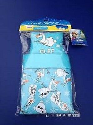 Build A Bear Disney Frozen Fever Teddy Bedding Comforter   Pillow With Olaf  New