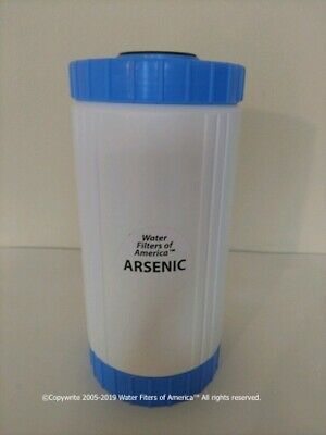 Arsenic Removal Water Filter (SPECIFIC not cheap carbon-fluoride removal type)