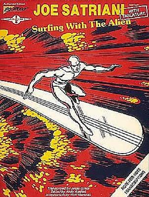 JOE SATRIANI SURFING WITH THE ALIEN GUITAR TAB BOOK NEW