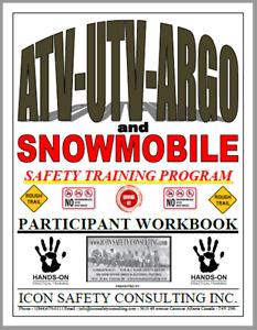 ATV UTV ARGO and SNOWMOBILE Operator Training - ICON SAFETY