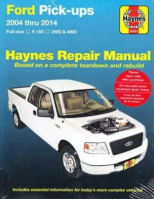2004-2014 Ford F150 Pick-Ups 2WD 4WD Haynes Repair Service Workshop Manual 0948