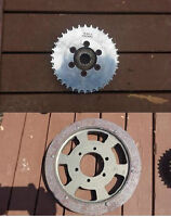 VN900 Scootworks Pulley Set