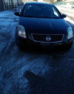 2009 Nissan Sentra. 68km with safety