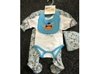Brand new 3-6 months baby boys clothes