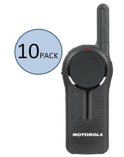 10 Motorola Dlr1020 Two Way Radio Walkie Talkies - Ships Fast!