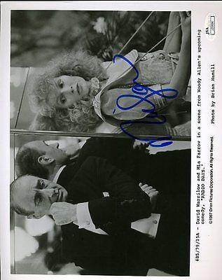 Mia Farrow Jsa Certed Signed 8X10 Photo Authentic Autograph