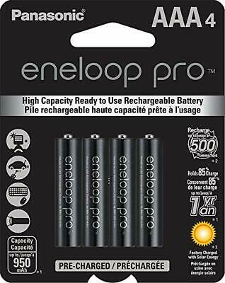 Panasonic Eneloop Pro AAA (BK-4HCCA4BA) Ni-MH Rechargeable Batteries (4 Pack) for sale  Shipping to India