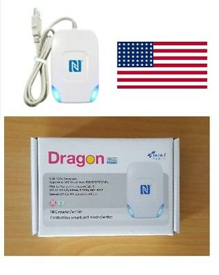 Duali Dragon Nfc Desktop Reader Writer 13.56mhz Usb - Usa Stock Support
