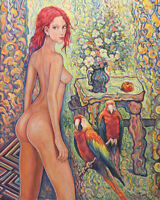 Original Oil Painting Flowers