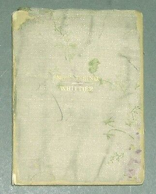 Snow Bound By John Greenleaf Whittier Antique C1900 Sesame Booklet   Linen Cover